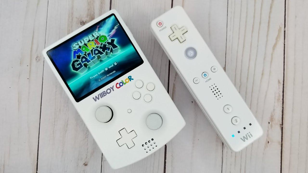 Un passionné a créé une Wii portable