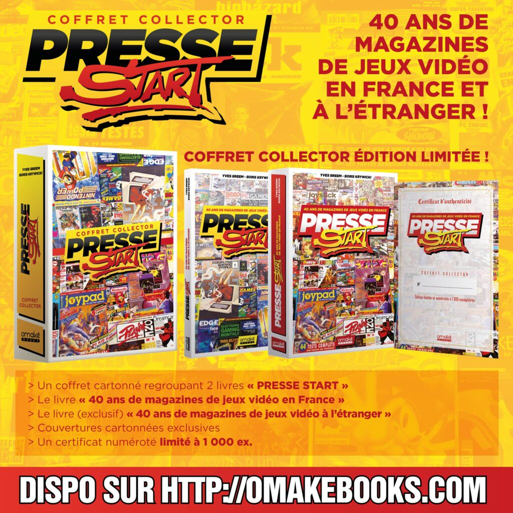 Presse Start - Edition collector