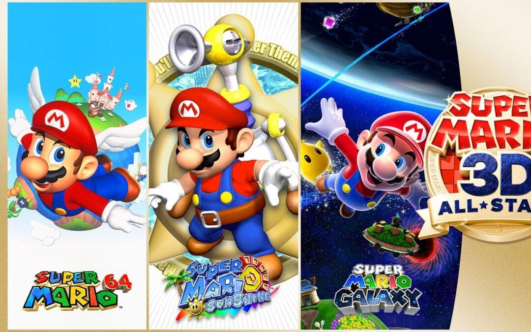 Super Mario 3D All-Stars est disponible sur Switch