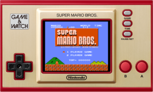 Découvrez la Game & Watch : Super Mario Bros.