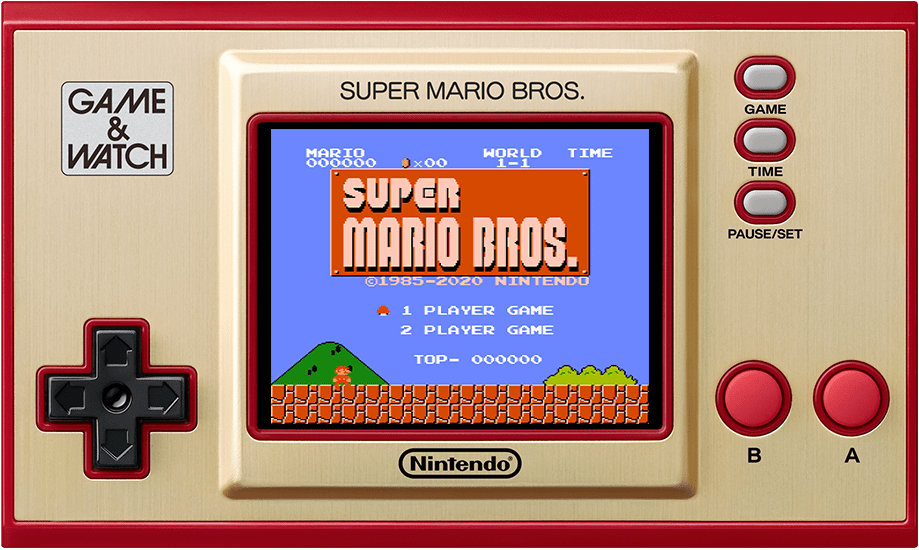 Découvrez la Game & Watch : Super Mario Bros.