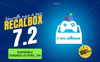 Recalbox 7.2 est disponible : découvrez toutes les nouveautés