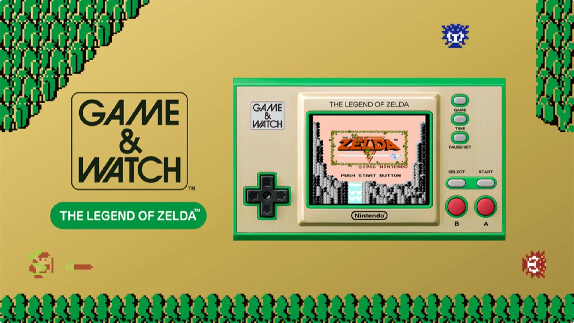 Et maintenant, Game & Watch : The Legend Of Zelda.