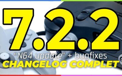 Recalbox 7.2.2 : N64 update est disponible