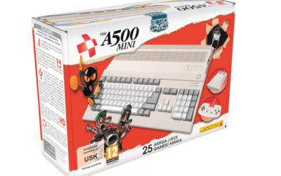 The A500 Mini : l'Amiga 500 mini arrive