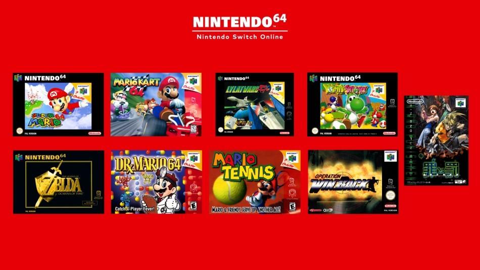La Nintendo 64 arrive sur Switch