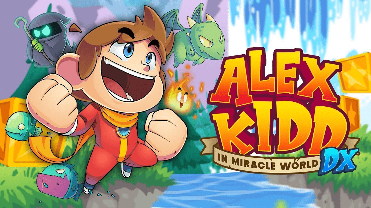 Alex Kidd in Miracle World DX disponible dès le 25 juin 2021