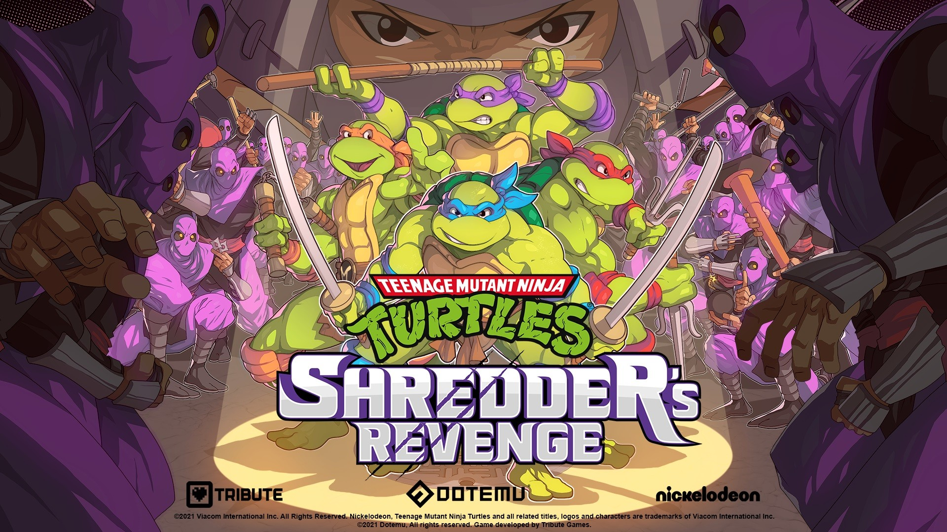 Teenage Mutant Ninja Turtles : Shredder's Revenge, un nouveau jeu Tortues Ninja à venir
