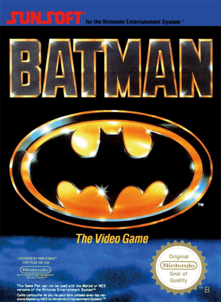 Batman : The Video Game (NES, 1990)