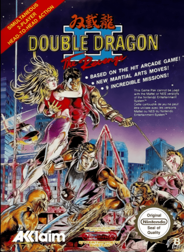 Double Dragon II : The Revenge (NES, 1990)