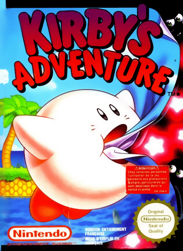 Kirby's Adventure (NES, 1993)