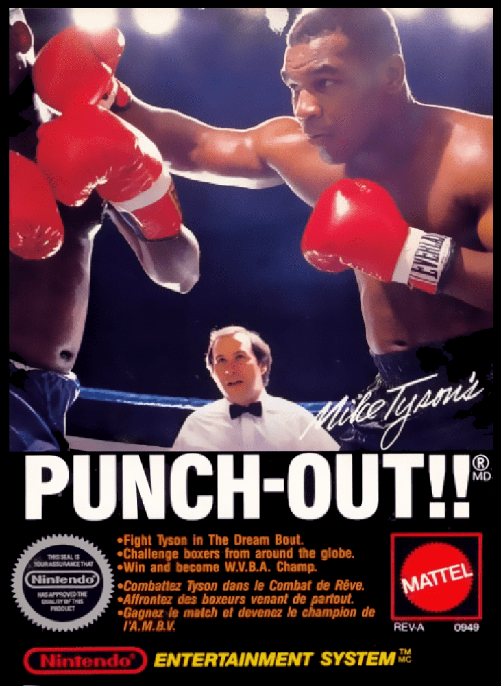 Mike Tyson's Punch-Out !! (NES, 1987)