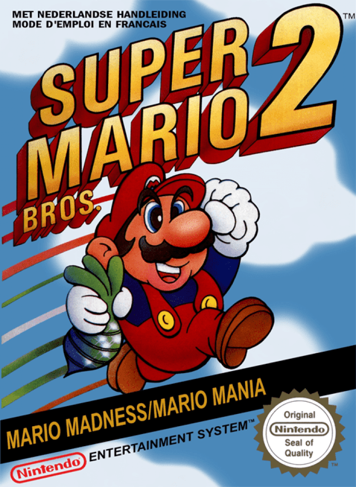 Super Mario Bros. 2 (NES, 1989)