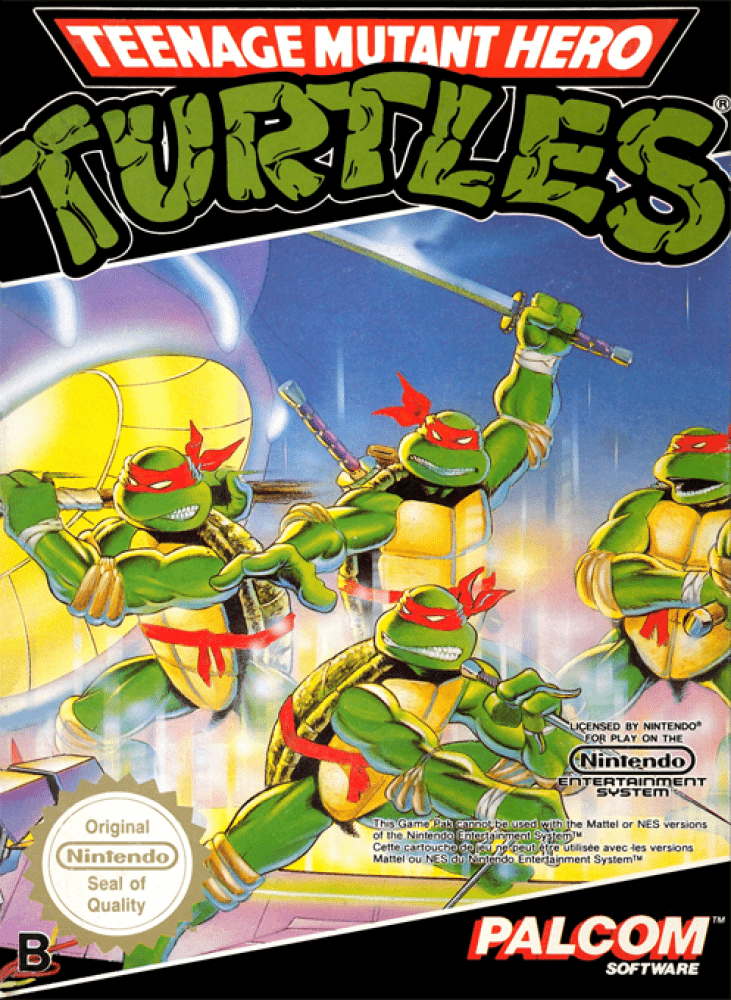 Teenage Mutant Hero Turtles (NES, 1989)