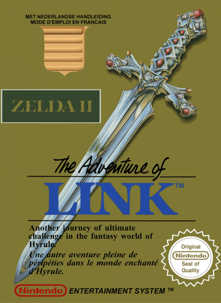 Zelda II : The Adventure of Link (NES, 1988)