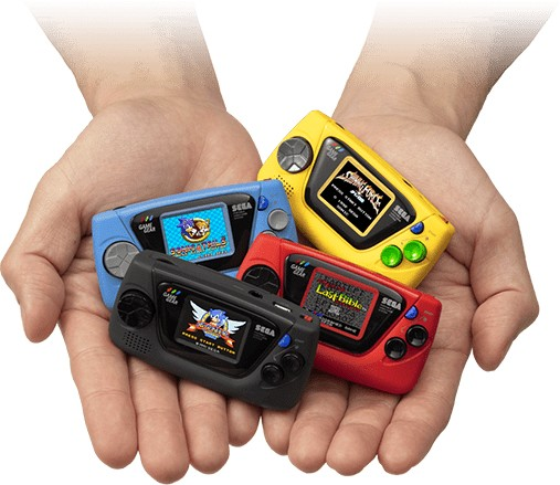 La Game Gear Micro est disponible au Japon