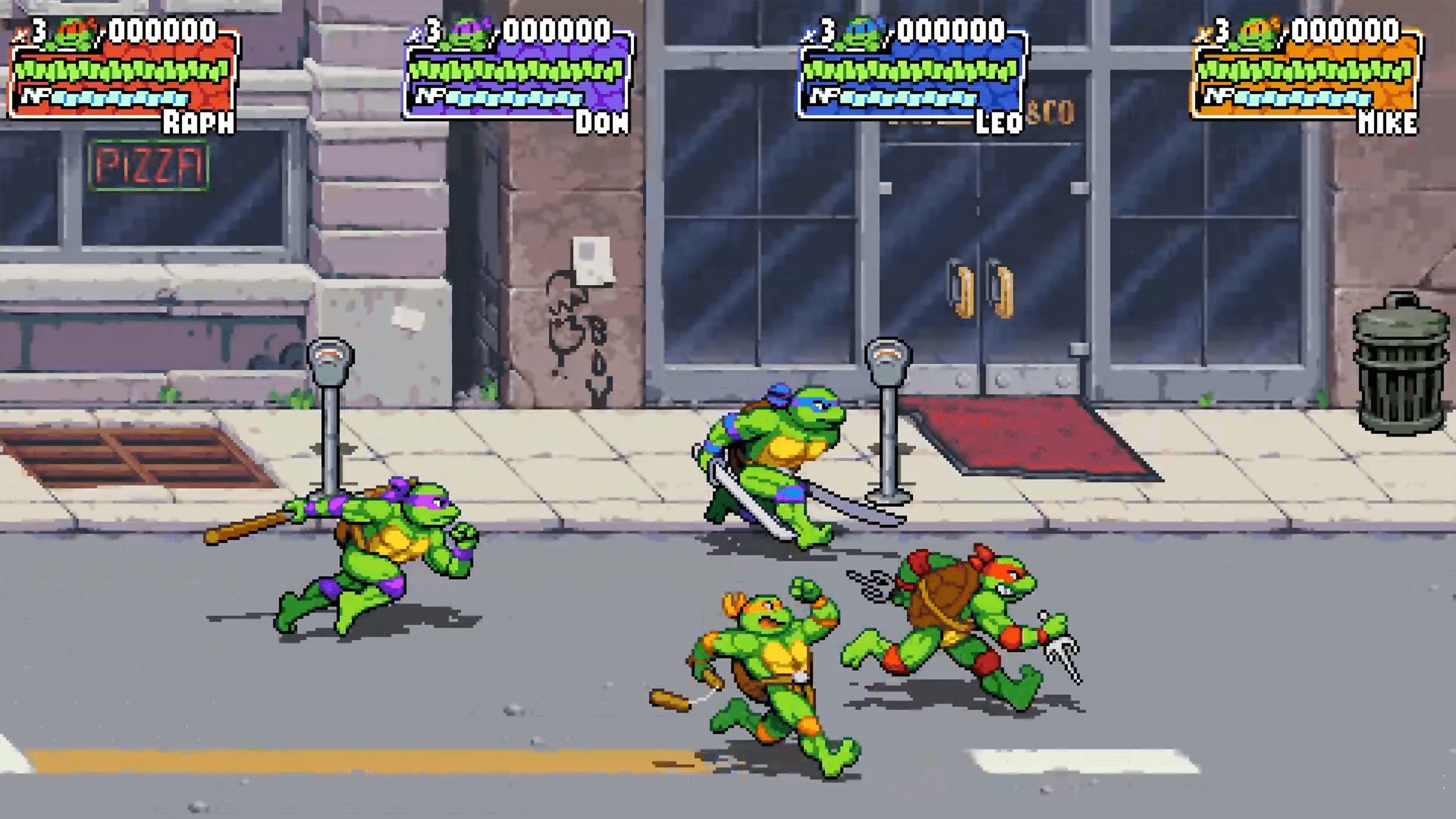 Teenage Mutant Ninja Turtles : Shredder's Revenge dévoile son gameplay en vidéo
